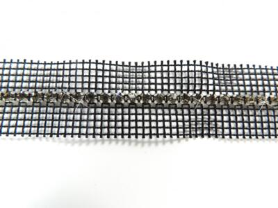 BORDURA STRASS 1 FILO SS 19 BLACK DIAMOND (confezione da 50 cm)